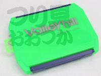 バレーヒル ルアーケース - VHW-1510HL #グリーン サイズ 横20×縦15×厚み3.5cm