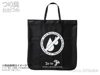 谷山商事 邪道 - ウォータープルーフバッグ #カーボンブラック 75×75cm