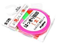 フジノ はっきり目印 - 太 # 蛍光ピンク 4m