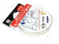 フジノ AQ ハナカン回り糸 -  # ブライトゴールド 0.6号 0.128mm ナイロン100%