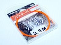 フジノ テンカラライン - ソフトテンカラ #オレンジ 3.3m ナイロン100% テーパーライン