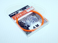 フジノ テンカラライン - ソフトテンカラ #オレンジ 4.0m ナイロン100% テーパーライン