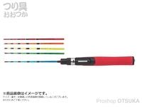 浜田商会 PG 極仙偏平わかさぎ -  タイプ2 錘負荷:0.5~1.5号 1-40  全長約38.5cm