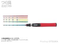 浜田商会 PG 極仙偏平わかさぎ -  タイプ2 錘負荷:1.5~2.5号 2-40  全長約38.5cm