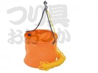 浜田商会 EVA反転バケツ丸 - AEC020  バケツ径21cm ロープ付き