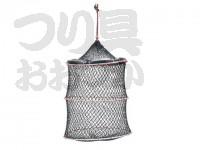 浜田商会 クレモナワイヤー巻スカリ - AKA001  36cm 2段
