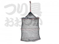 浜田商会 クレモナワイヤー巻スカリ - AKA001  36cm 3段