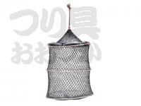 浜田商会 クレモナワイヤー巻スカリ - AKA001  40cm 3段