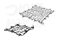浜田商会 キャリーネット - LER208-S #アソート(ブラック・レッド) Sサイズ 36×36cm