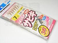 浜田商会 ピンクサビキオーロラ(3枚組)