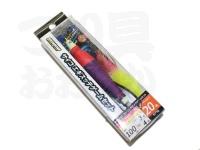 浜田商会 サイコエギスッテゲームセット -  #ピンクイエロー 20号 全長100cm エダス3号 幹糸4号