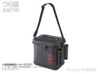 浜田商会 クロスファクター EVAタックルバッグST(ロッドスタンド付き) - AEK909 #ブラック 約23×33×30cm