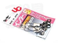 植田漁具 スイベル - インターロック付ローリング  2/0号