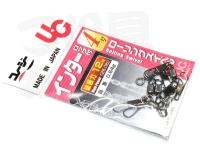 植田漁具 スイベル - インターロック付ローリング -. 4号 破断力12Kg