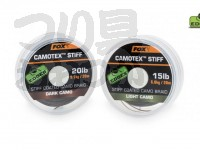 フォックス カモテックス ソフト - CAC447 #ダークカモ 20lb