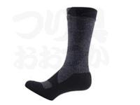 シールスキンズ ウォーキングシンミッド -  #ダークグレー/ブラック Sサイズ