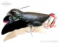 チェイスベイツ ザ・スマグラー -  2.5インチ #ブラックコカトゥー 65mm 18g