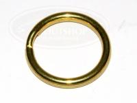 ティークラフト ブラスリング -  S #ゴールド 20mm