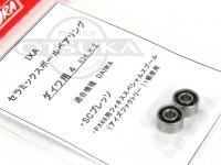 サワムラ ボールベアリング - IXA セラミック アブ用 - 834