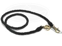 ワイズカスタム レザーチェーン - 90cm #ブラック 全長90cm