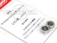 サワムラ ボールベアリング - IXA マイクロベアリングシステム シマノ用 - 1034×2
