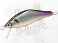 エゴイスト リーフ -  F45 #黒銀/OB 45mm 約4.1g(フックレス) シンキング