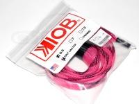 テンフィートアンダー/KIOB アクセサリー - ロッドソックス #ピンク/ブラック ベイト用 6.6フィート