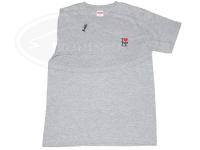 レザースタイルペルフェット Tシャツ - ペルT #グレー Lサイズ