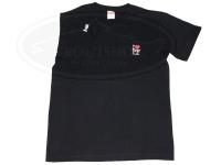 レザースタイルペルフェット Tシャツ - ペルT #ブラック Lサイズ