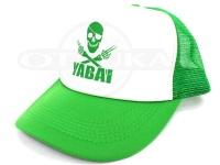 ゲーリーヤマモト メッシュキャップ - ヤバイ  #グリーン/ホワイト フリーサイズ