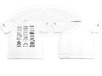 オオツカオリジナル オリジナルTシャツ トラウトショップXエリアメーカーコラボTシャツ #ホワイト L