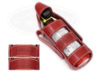 レザースタイルペルフェット レザークマよけスプレーケース - レザーカウンターアソールトケース #オイルドペルフェレッド(ベージュステッチ) CA230(黒)CA290(赤)兼用サイズ