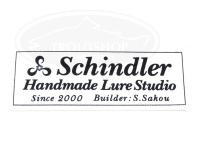 シンドラーハンドメイドルアースタジオ ワッペン - シンドラーW-1 #ホワイト 100×38mm