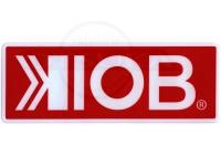 KIOB ステッカー - KIOB  #レッド Mサイズ