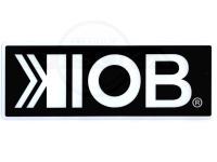KIOB ステッカー - KIOB  #ブラック Mサイズ