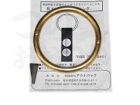 アウトバック ブラスリング -  #真鍮 直径80mm