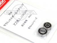 サワムラ ボールベアリング - IXA セラミック アブ用 - 1154+1034