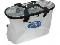 日本バスクラブ NBC トーナメント用品 - 公認ウェイインバッグ新型 #ホワイト 新型バッカンタイプ