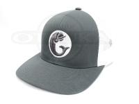 グリーンフィッシュタックル キャップ - オリジナル #グレー/ホワイト フリーサイズ
