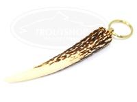ティークラフト スタッグキーホルダー -   Lサイズ 本体約10cm