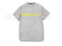 フルクリップ Tシャツ - FCロゴT #グレー/ネオンイエロー Lサイズ