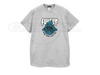 フルクリップ Tシャツ - レイジ タフスキン #グレー/ブルー Mサイズ