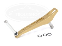 NSクラフト カーディナルROBOシングル - CDS50Air ブランク #TiGo(チタンゴールド) 50mm  ダイワ、シマノノブ装着可能