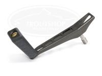 NSクラフト カーディナルROBOシングル - CDS50Air 左ヒネリK黒 #TiGr(チタングレイ) 50mm  ダイワ、シマノノブ装着可能