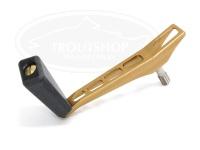 NSクラフト カーディナルROBOシングル - CDS50Air 左ヒネリK黒 #TiGo(チタンゴールド) 50mm  ダイワ、シマノノブ装着可能