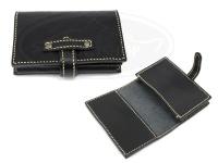 レザースタイルペルフェット レザーカードケース -  #ブラック 外寸11cmX7.5cm