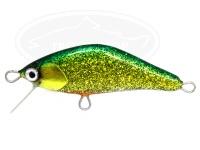 エゴイスト リーフ -  F45HR #渋輝緑金 約45mm 約3.4g(フックレス) シンキング