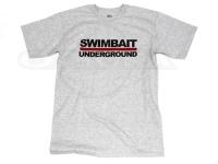 スイムベイトアンダーグラウンド Tシャツ - SUロゴT #ヘザー XLサイズ