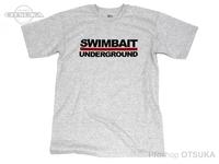 スイムベイトアンダーグラウンド Tシャツ - SUロゴT #ヘザー Mサイズ