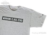ワーキングクラスゼロ Tシャツ - スタンダード #アスレチックヘザー Lサイズ